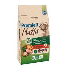 Ração Premier Nattu Cães Adultos Abóbora – 12kg