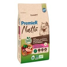 Ração Premier Nattu Cães Adultos Pequeno Porte Mandioca – 10,1kg