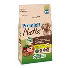Ração Premier Nattu Cães Filhotes Frango e Mandioca - 10,1kg