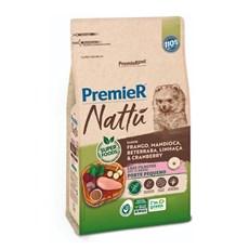 Ração Premier Nattu Cães Filhotes Pequeno Porte Mandioca - 1kg