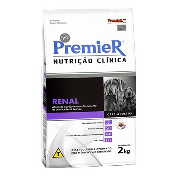 Ração Premier Nutrição Clinica Renal Cães Adultos