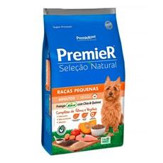 Ração Premier Seleção Natural Cães Adultos Raças Pequenas Frango Com Chia E Quinoa