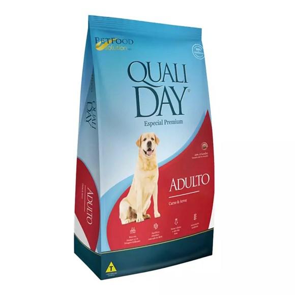 Ração Qualiday Cães Adultos Carne - 15kg