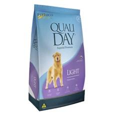 Ração Qualiday Cães Adultos Light - 15kg