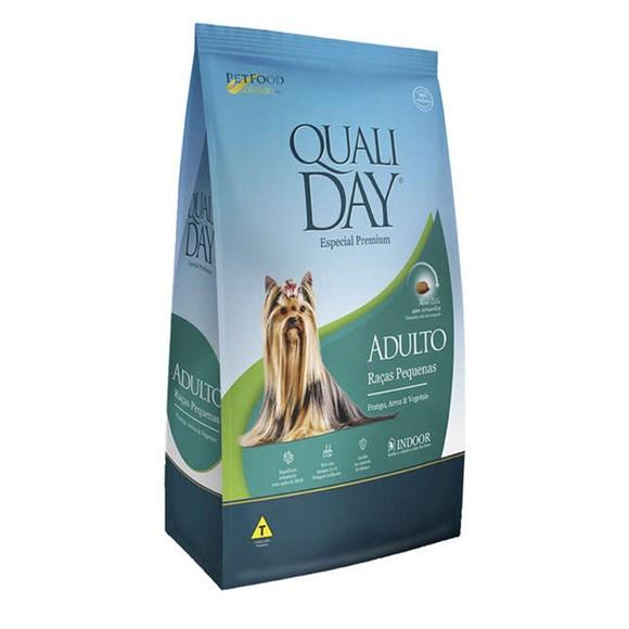 Ração Qualiday Cães Adultos Raças Pequenas - 10,1kg