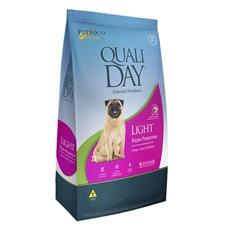 Ração Qualiday Cães Adultos Raças Pequenas Light - 10,1kg