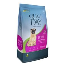 Ração Qualiday Cães Adultos Raças Pequenas Light - 3kg