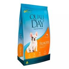 Ração Qualiday Cães Filhotes Frango - 3kg