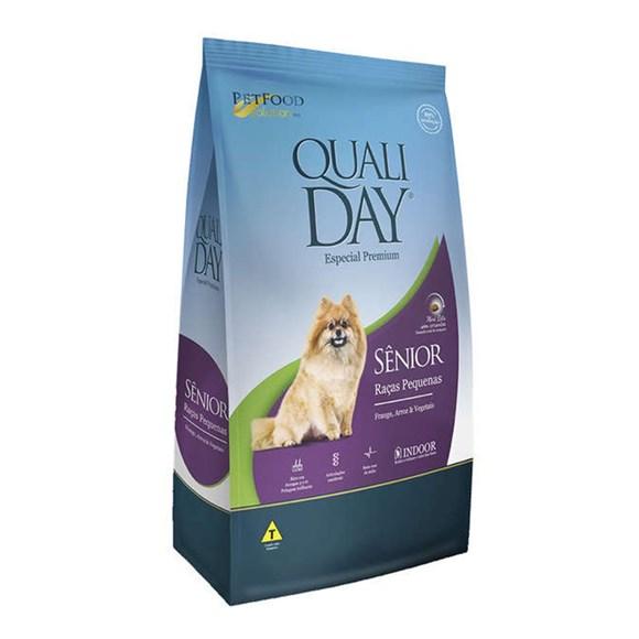 Ração Qualiday Cães Sênior Raças Pequenas - 3kg