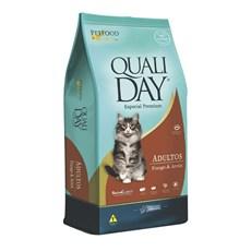 Ração Qualiday Gatos Adultos Frango - 10,1kg