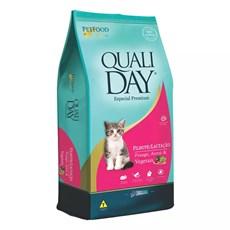 Ração Qualiday Gatos Filhotes Lactação - 10,1kg