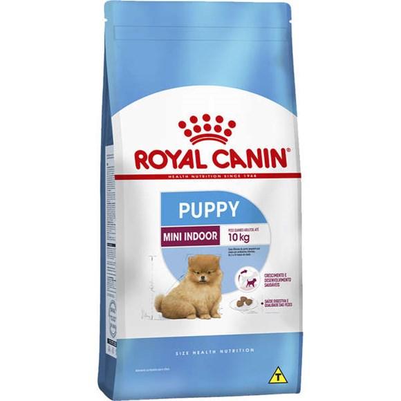 Ração Royal Canin Cães Indoor Puppy Jr – 2,5kg