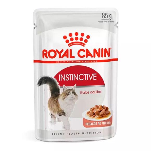 Ração Royal Canin Gatos Instinctive Sachê – 85g