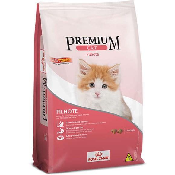 Ração Royal Canin Gatos Premium Cat Filhotes – 10,1kg