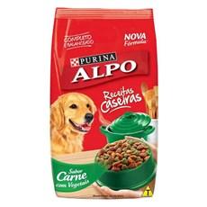 Ração Seca Alpo Cães Receitas Caseiras Carne Vegetais - 18Kg