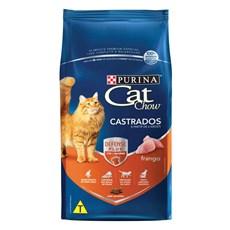 Ração Seca Cat Chow Castrados Frango - 10,1KG