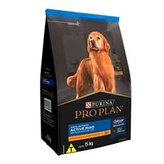 Ração Seca Pro Plan Cães Adultos 7+ Frango - 15kg