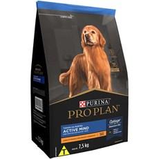 Ração Seca Pro Plan Cães Adultos 7+ Frango - 7,5kg