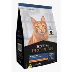 Ração Seca Pro Plan Gatos Adultos 7+ Frango - 7,5kg