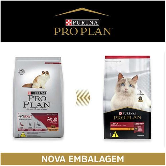Ração Seca Pro Plan Gatos Adultos Frango - 7,5kg