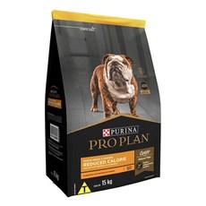 Ração Seca Pro Plan Reduced Calorie Cães Adultos Frango - 15kg