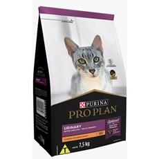 Ração Seca Pro Plan Urinary Gatos Adultos Frango - 7,5kg