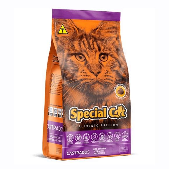 Ração Special Cat Adultos Castrados - 20Kg