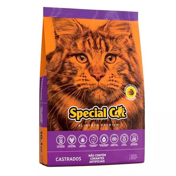 Ração Special Cat Gatos Castrados – 10,1kg