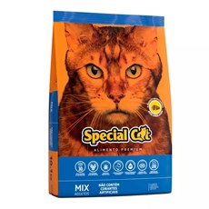 Ração Special Cat Mix Gatos Adultos – 10,1kg