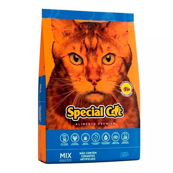 Ração Special Cat Mix Gatos Adultos - 20Kg