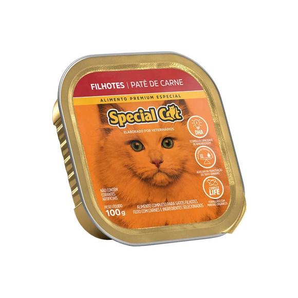 Ração Special Cat Patê Gatos Filhotes Carne – 100g