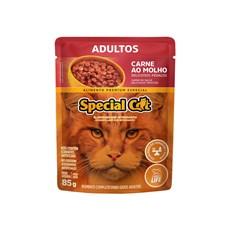 Ração Special Cat Sache Gatos Adultos Carne – 85g