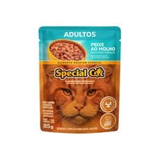 Ração Special Cat Sachê Gatos Adultos Peixe – 85g