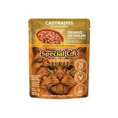 Ração Special Cat Sache Gatos Castrados Frango – 85g