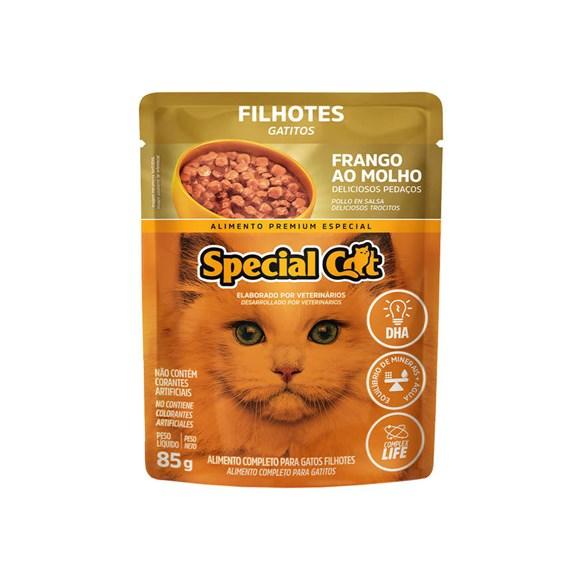Ração Special Cat Sache Gatos Filhotes Frango – 85g