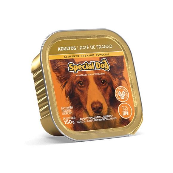 Ração Special Dog Patê Cães Adultos Frango – 150g