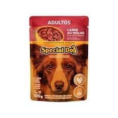 Ração Special Dog Sachê Cães Adultos Carne – 100g