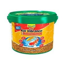 Ração Tetra Koi Vibrance Sticks 10l / 1,5kg Bucket