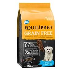 Ração Total Equilibrio Cães Grain Free Mini Filhotes - 1,5kg