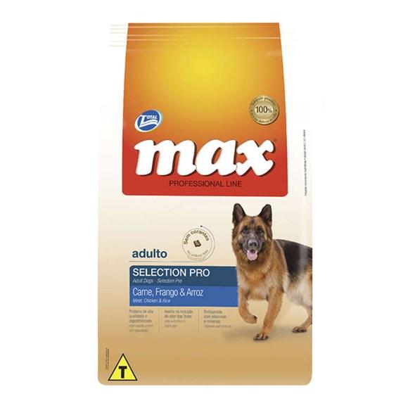 Ração Total Max Cães Adultos Selection Pro - 15kg