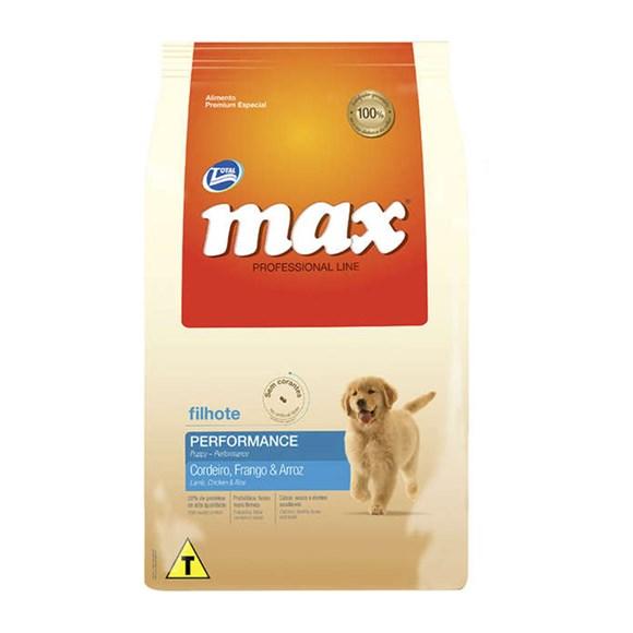 Ração Total Max Cães Prof. Line Frango e Arroz Fil. - 15kg