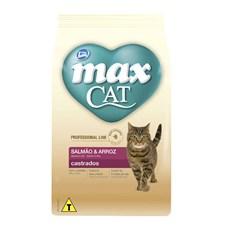 Ração Total Max Gatos Prof. Line Castrados Salmão - 10,1kg