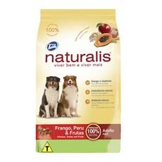 Ração Total Naturalis Cães AD. Fgo Peru & Frutas - 15kg