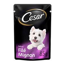 Ração Úmida Cesar Sachê Cães Adultos Filet Mignon - 85g