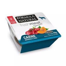 Ração Úmida Fórmula Natural Fresh Meat Gourmet Patê Cães Carne - 70g