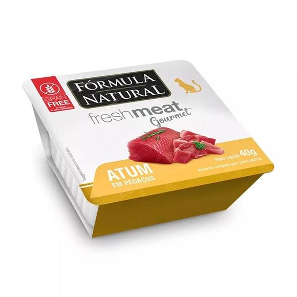 Ração Úmida Fórmula Natural Fresh Meat Gourmet Patê Gatos Atum - 40g