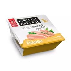 Ração Úmida Fórmula Natural Fresh Meat Gourmet Patê Gatos Frango - 40g