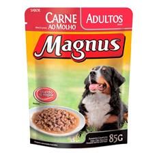 Ração Úmida Magnus Cães Adultos Carne - 85g