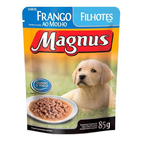 Ração Úmida Magnus Cães Filhotes Frango - 85g