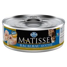 Ração Úmida Matisse Gatos Bacalhau Mousse - 85g
